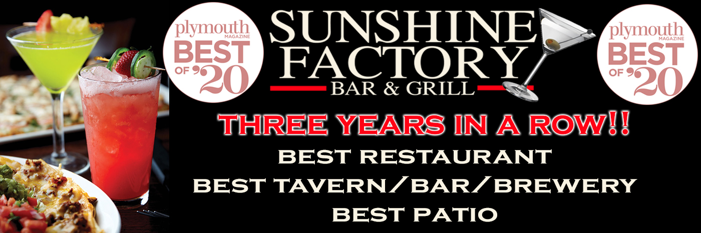 Plymouth Best of 2019 The Sunshine Factory